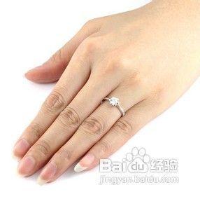 戒指戴在不同手指上所表达的意思图片