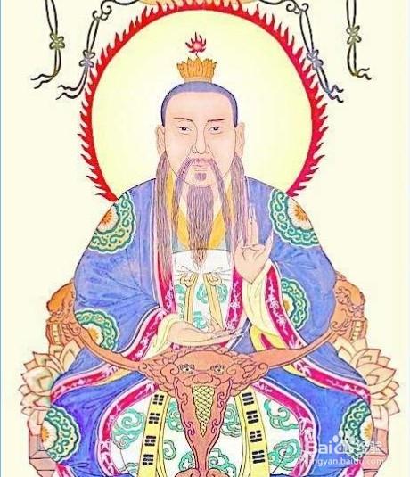 5 太清,万教混元教主玄元皇帝太上老君道德天尊.