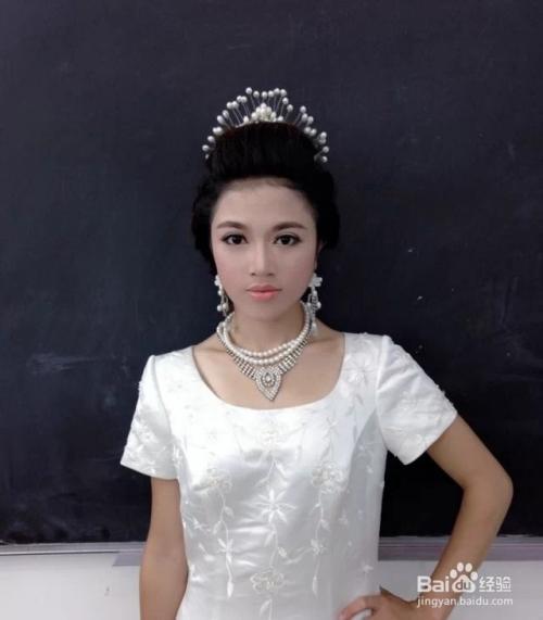 郭纪军教你画高贵大气欧式新娘妆