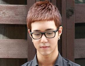 男生平刘海发型图片