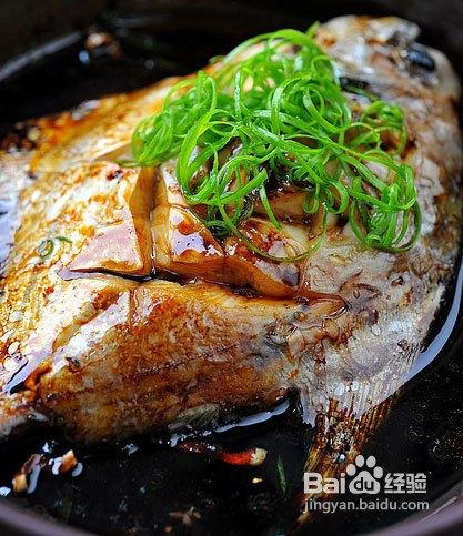 鲳鱼可以补脑红烧小儿的做法菜籽油发黑益智吃吗