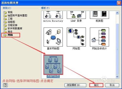 如何使用office visio2007画出漂亮的网络流程图