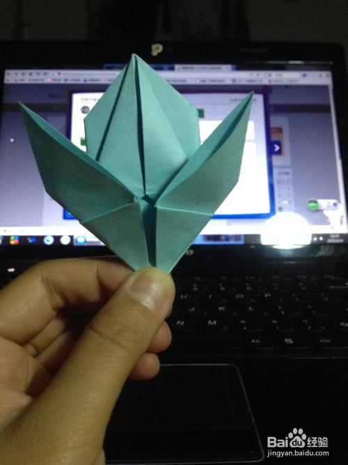 手工折纸:3d立体吹气小兔子图片