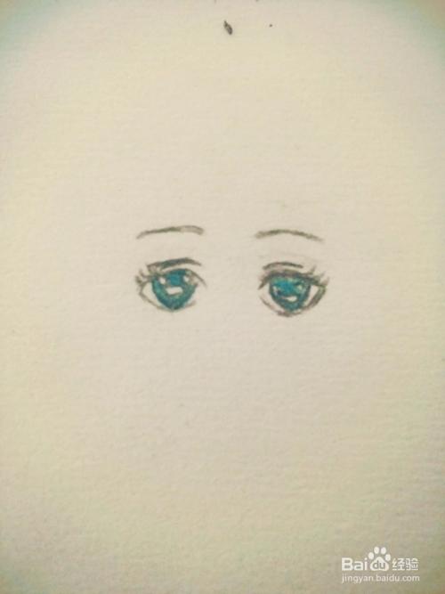 简单的动漫人物眼睛怎么画(4)图片