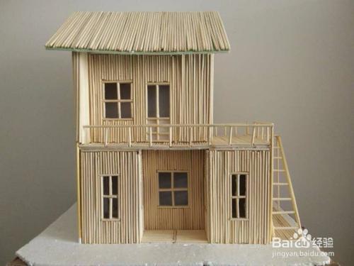 物的模型, 2 准备规划的材料,挑选直的一次性筷子做建筑物的力学框架