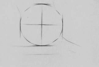 怎样画素描中的球形图片