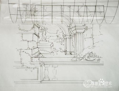 用笔画3d立体画_3d墙绘,3d立体墙画绘制步骤图