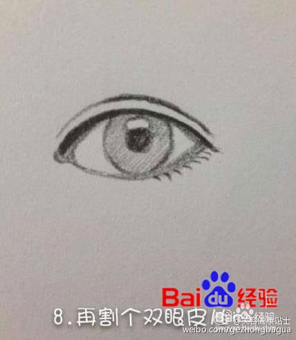 素描画画眼睛老是画不好怎么办图片