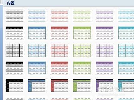 怎么样设计和运用word表格中的样式图片