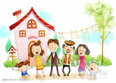 我们都是一家人漫画_我们是一家人