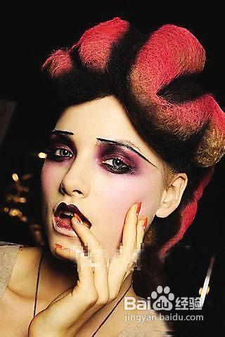 万圣节妆容画法_2012年万圣节到了轻松教你万圣节妆容的打造方法