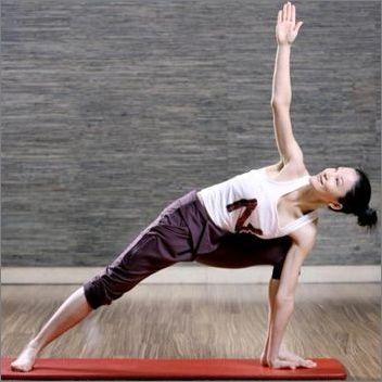 瘦腿快速瑜伽男朋友肚子瘦不下来图片