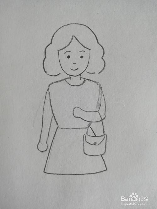 妇女节妈妈简笔画儿童画卡通怎么画