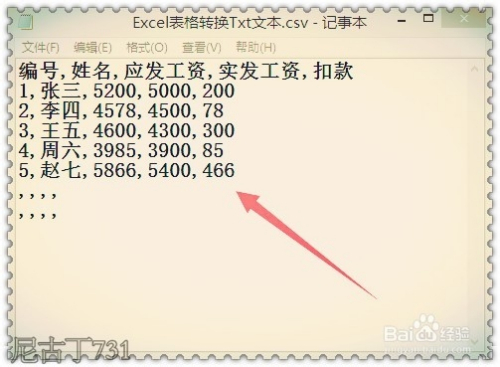 excel表格怎样转换txt文本格式