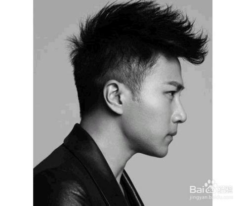 2  韩国明星范的长脸发型,光泽的头发颜色,很好看.图片