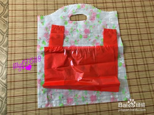 怎么样用塑料袋做裙子图片