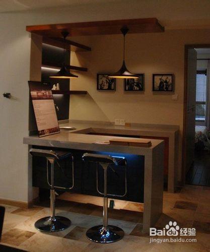 家居吧台的设计要领图片