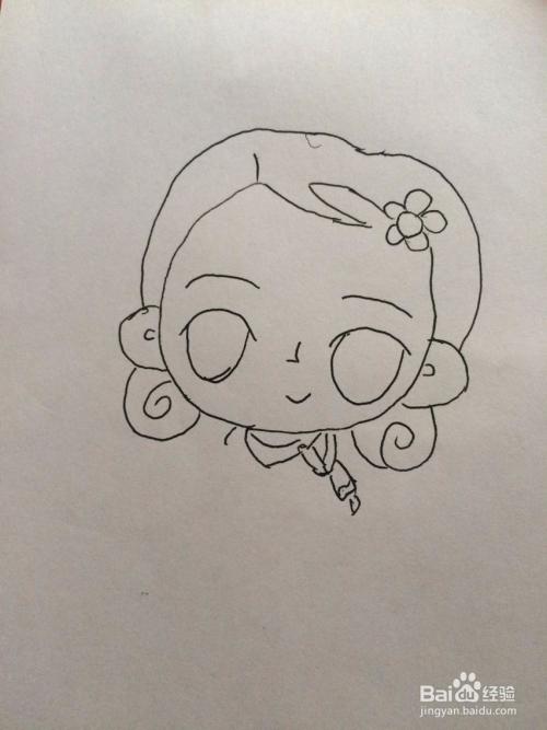 漂亮妈妈的简笔画法