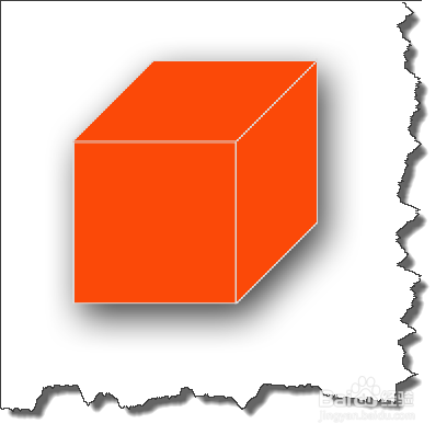 ps中绘制利用工具变形正方体?景观设计验收图片