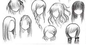 1 画漫画人物头部要细致,位置要找准 2 画漫画人物的眼睛.图片