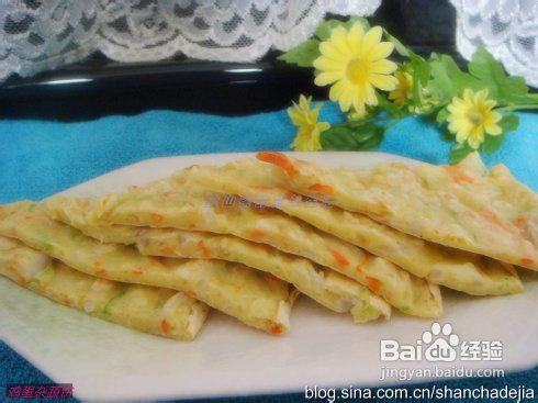 角瓜饼的做法大全_鸡蛋杂蔬饼的做法