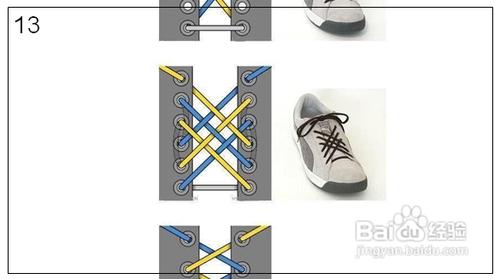 系鞋帶的方法大全圖片