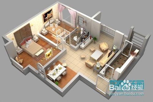 室内建筑设计效果图3dmax软件制作流程