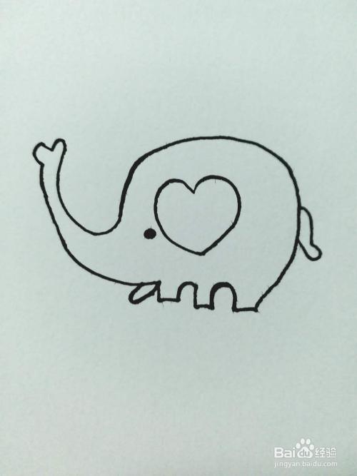 象的简笔画法