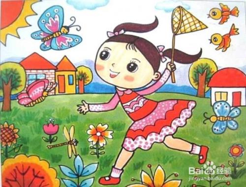 小燕子,穿花衣,年年春天来这里.