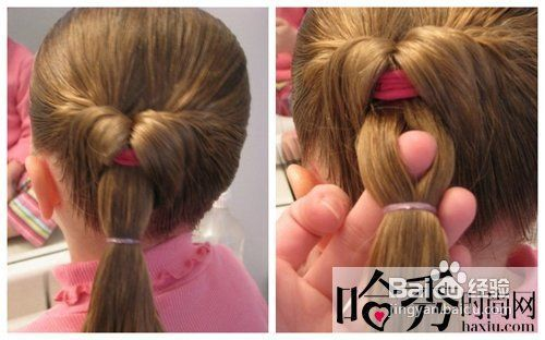 儿童发型扎法教程既简单又可爱图片