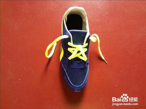 鞋带之五角星系法图片