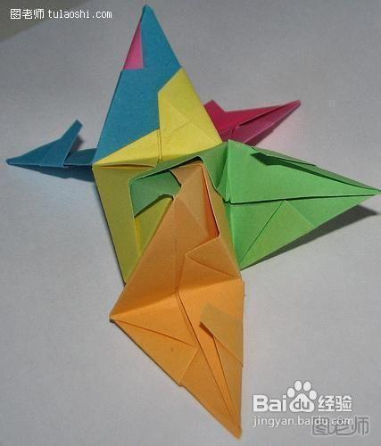怎么用吸折星星_多角星星的折法