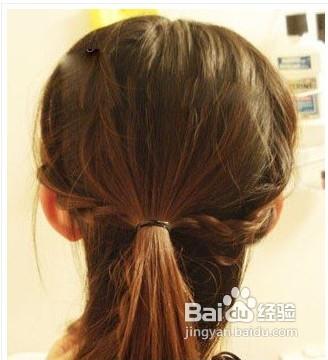 热门diy韩式发型扎发图片