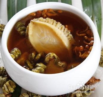 石斛枫斗青蟹之鲍鱼吃法汤铁皮罗宋汤做法图片