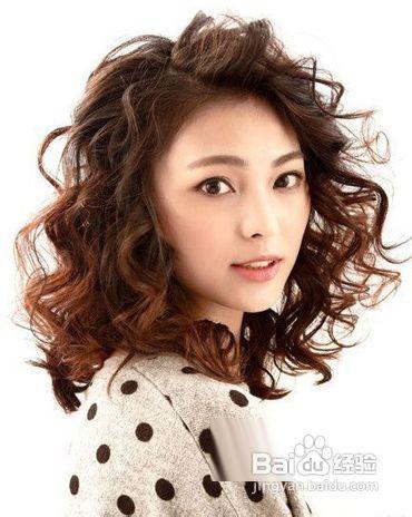 最新女生烫发发型图片 时髦显气质图片
