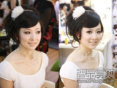 怎样找适合自己新娘妆造型图片