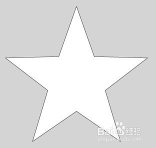 怎样制作五角星图片