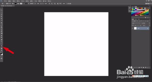 photoshop里面怎么画一个矩形并将一图适应其中图片