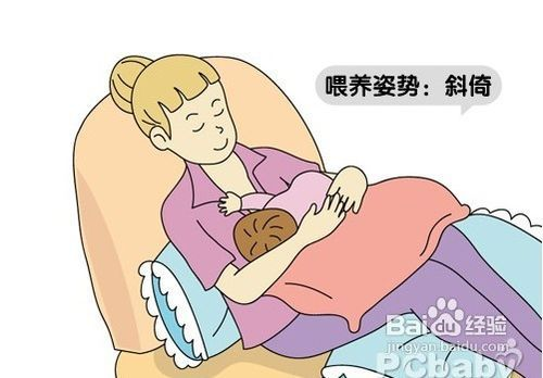 新生兒母乳喂養的正確姿勢圖片