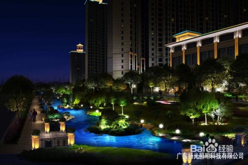 城市绿地景观照明设计技巧图片