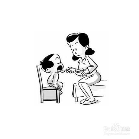 怎么解决小孩不吃饭的问题图片