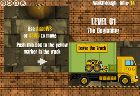 卡车装载机玩法