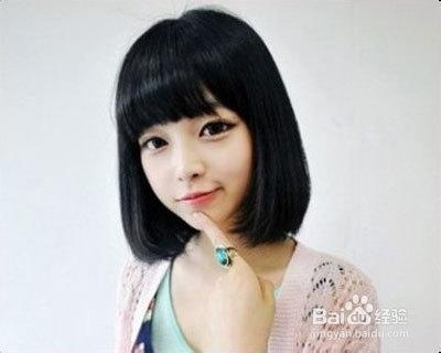 脸型与刘海 各种脸型所适合的刘海图片