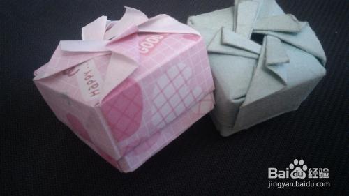 教你用纸折礼物盒,戒指盒图片