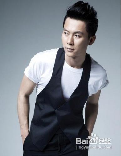 时尚又独特的不留刘海的男生发型图片