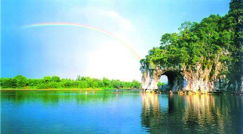 象鼻山——桂林山水的象征图片