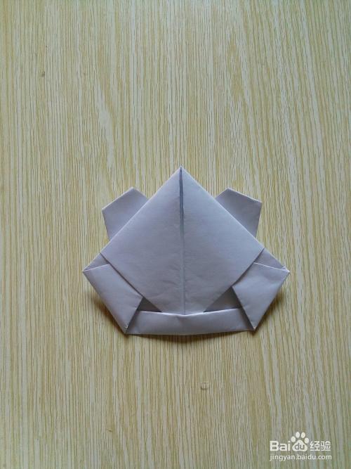 儿童,小学生易学的简单的折纸——折青蛙图片