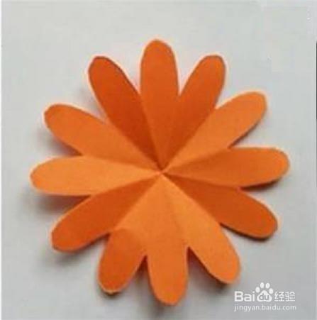 纸菊花的做法