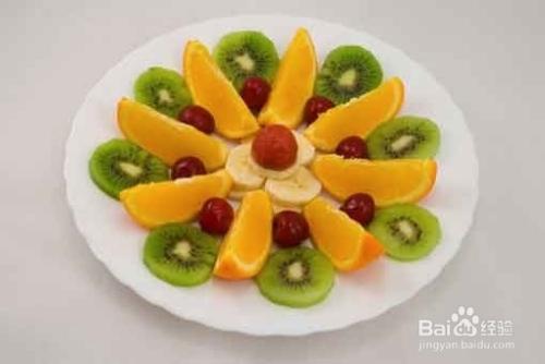 手工制作水果拼盘图片