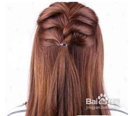 学习简单韩式盘发图解优雅发型随手拿捏图片
